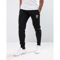 Pantalon de jogging ajusté - Noir - Noir - Gym King - Shopsquare
