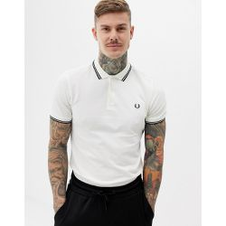 Polo à double liseré - cassé - Fred Perry - Shopsquare