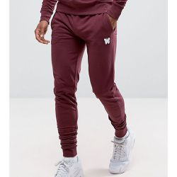 Pantalon de jogging ajusté avec petit logo - Bordeaux - Exclusivité ASOS - Good For Nothing - Shopsquare