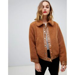 Veste teddy - Pieces - Shopsquare