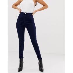 Vice - Jean skinny taille haute super stretch - Navy - Missguided - Shopsquare