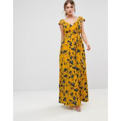 Robe longue à fleurs en mousseline - traffic people - Shopsquare