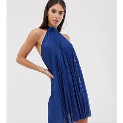 9292c4a6c3c ASOS DESIGN Tall - Robe courte dos nu plissée - ASOS Tall - Shopsquare