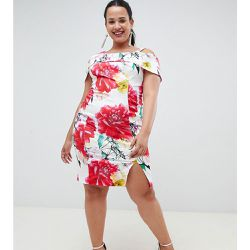 Robe fourreau à imprimé roses - Coast Plus - Shopsquare