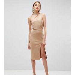 a3b5411166d Robe moulante mi-longue découpée détail corset - ASOS Tall - Shopsquare