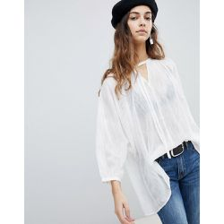 Blouse oversize en coton - Soaked in Luxury - Shopsquare