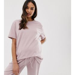 ASOS DESIGN Maternity - Mix & Match - T-shirt de pyjama en jersey chiné - ASOS Maternity - Shopsquare