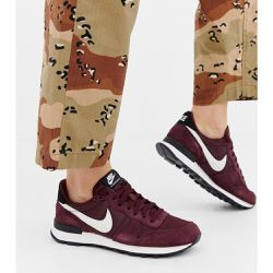 Internationalist - Baskets en daim - Bordeaux - Nike - Shopsquare