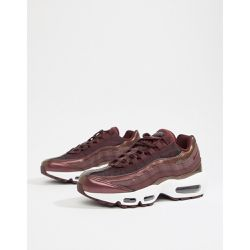 Air Max 95 - Baskets - Bordeaux métallisé - Nike - Shopsquare