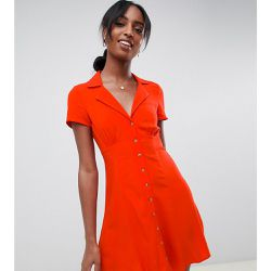 ASOS DESIGN Tall - Robe patineuse boutonnée courte - ASOS Tall - Shopsquare