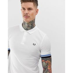 Polo à bordures colorées - - Fred Perry - Shopsquare