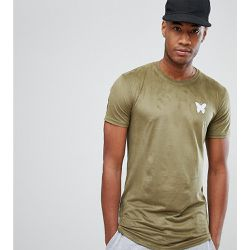 T-shirt moulant en suédine - Kaki - Exclusivité ASOS - Good For Nothing - Shopsquare