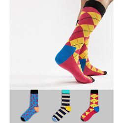 HS By - Lot de 3 paires de chaussettes - Happy Socks - Shopsquare