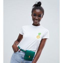 Kenya - T-shirt à broderie ananas - ASOS MADE IN - Shopsquare