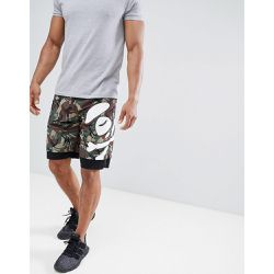 Short avec empiècements en forme de logo - - AAPE BY A BATHING APE - Shopsquare
