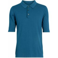 Knitted Silk Polo Shirt - Burberry - Shopsquare