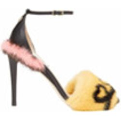 Heart fur sandals - Fendi - Shopsquare