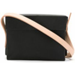 plastic bag with leather straps - Gloria Coelho - Shopsquare