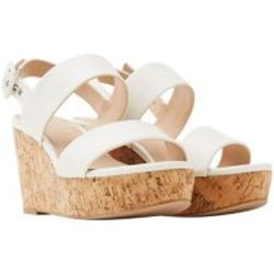 24a62bd94332 Sandales à talons compensés d aspect liège - Esprit - Shopsquare