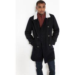 Caban drap de laine col sherpa - LA REDOUTE COLLECTIONS - Shopsquare 8a912d1cb3a