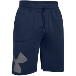 Short Rival Fleece Exploded Logo - 1303137-410 - Under Armour - Shopsquare