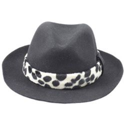 Chapeau Fedora feutre ruban Savannah - PANAMES AND CO - Shopsquare