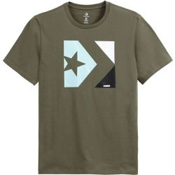 T-shirt col rond Star chevron Graphic - Converse - Shopsquare