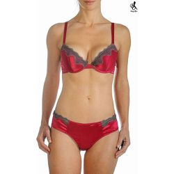 Soutien gorge push up soie Sonia - BODY ONE - Shopsquare