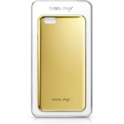 Coque Deluxe iPhone 6 gold - Happy Plugs - Shopsquare