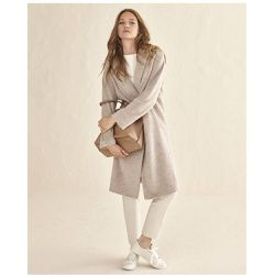 Manteau long avec laine - WOMAN LIMITED EL CORTE INGLES - Shopsquare
