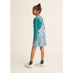 b4828064e68d Robe chasuble denim Mickey Mouse - Mango Kids - Shopsquare