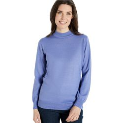 Pull col montant, manches longues - BALSAMIK - Shopsquare