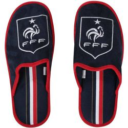 Pantoufles Fan France /Rouge - MADE IN SPORT - Shopsquare