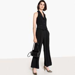 8a1a435d940a23 Combinaison-pantalon sans manches, dos nu