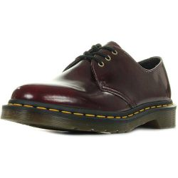 Boots Vegan 1460 Cherry Red Cambridge Brush - Dr Martens - Shopsquare