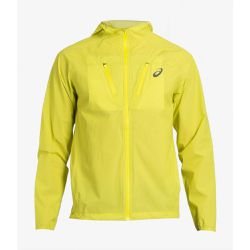 Imperméable de running WATERPROOF JACKET YELLOW - ASICS - Shopsquare
