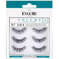 Strip Eyelashes Volume Faux Cils No. 101 Lot x 3 - Eylure - Shopsquare