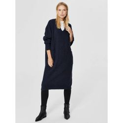 Robe en maille Col en V - - Selected Femme - Shopsquare