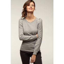 Pull maille relief fantaisie - Naf Naf - Shopsquare