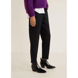 c18394e0b4b7 Pantalon droit avec ceinture - Mango - Shopsquare
