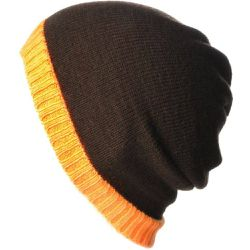 Bonnet 30% laine orange - DANDYTOUCH - Shopsquare