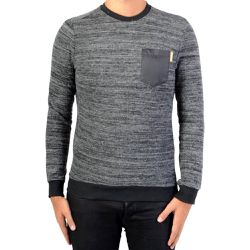 Sweat Viza Black Melanged - KAPORAL 5 - Shopsquare