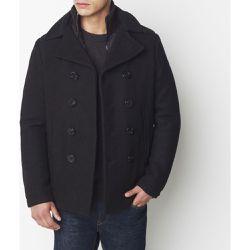 Caban CYCLONE 2 en drap de laine - Schott - Shopsquare fba9c41c4ff