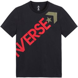 T-shirt col rond Big Logo Graphic - Converse - Shopsquare