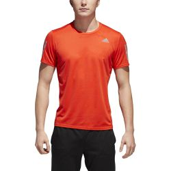 T-shirt col rond Climacool, manches courtes - Adidas - Shopsquare