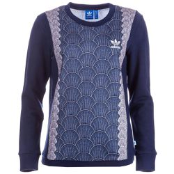 Sweat Shell Tile Crew - adidas Originals - Shopsquare