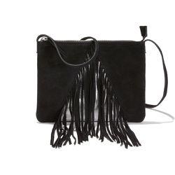 509ad9c400 Sac pochette en cuir avec franges - LA REDOUTE COLLECTIONS - Shopsquare