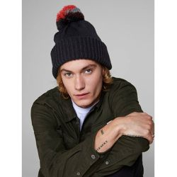 Bonnet Pompon maille - jack & jones - Shopsquare