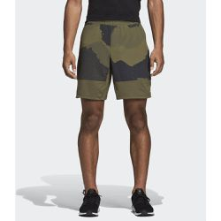Short 4KRFT Tech 8-Inch Camouflage Graphic - adidas Performance - Shopsquare