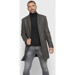 Manteau en laine à carreaux prince de galles - Arrow - Shopsquare 9d4a5fca557